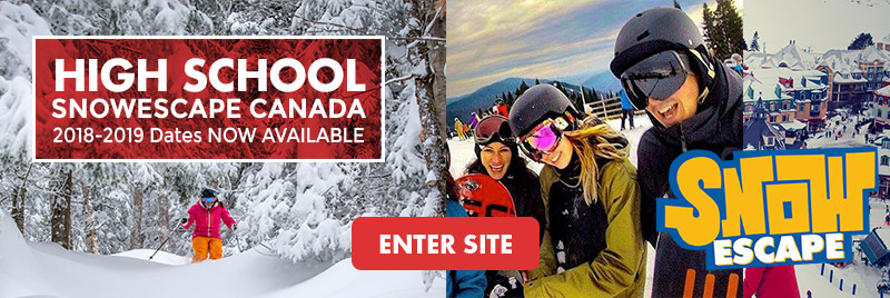 Highschool Canada Ski Trips